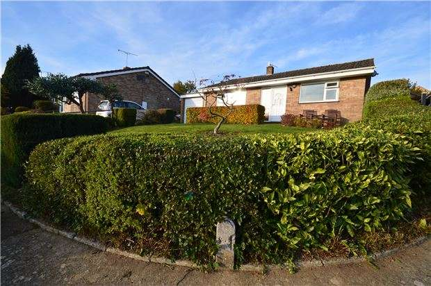 3 Bedrooms Detached Bungalow for sale in Glynfield Rise, Ebley, Stroud, Gloucestershire, GL5 4QP