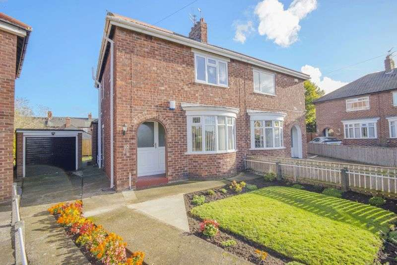 3 Bedrooms Semi Detached House for sale in Thirlmere Crescent, Normanby, Middlesbrough, TS6 0EU