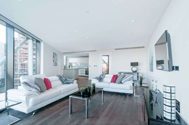 2 Bedrooms Flat for sale in Riverlight, London