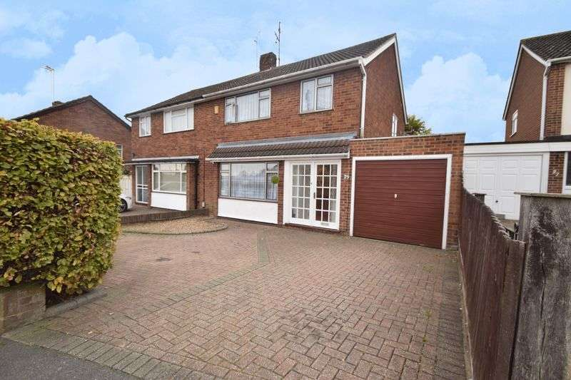 3 Bedrooms Semi Detached House for sale in Calverton Road, Luton