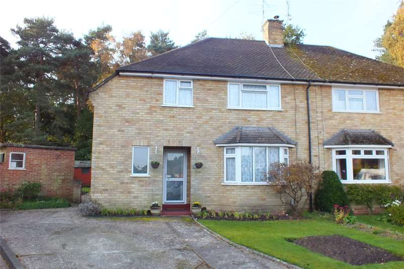 3 Bedrooms Semi Detached House for sale in Parsons Close, Church Crookham, Fleet, GU52
