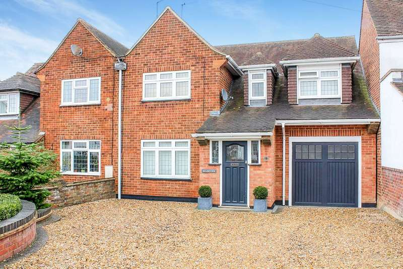 3 Bedrooms Semi Detached House for sale in Milestone, Ranelagh Road, Hemel Hempstead