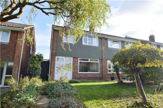3 Bedrooms Semi Detached House for sale in Fortina Close, CHELTENHAM, Gloucestershire, GL50 4RB