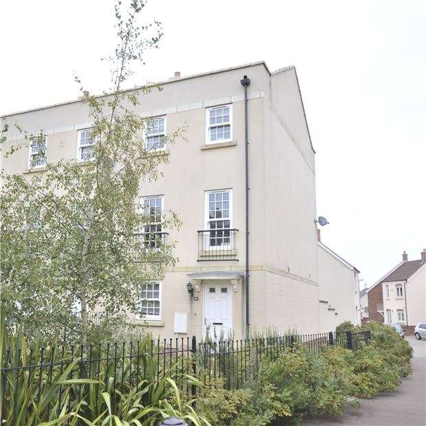 3 Bedrooms Town House for sale in Stearman Walk, Lobleys Drive, Brockworth, GLOUCESTER, GL3 4FL