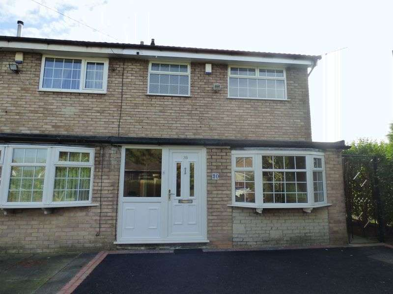 3 Bedrooms Terraced House for sale in Bradfield Close, Stockport