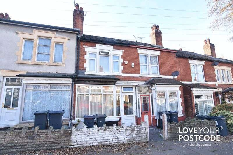 3 Bedrooms Terraced House for sale in Oxford Street, Stirchley, Birmingham, B30 2LH