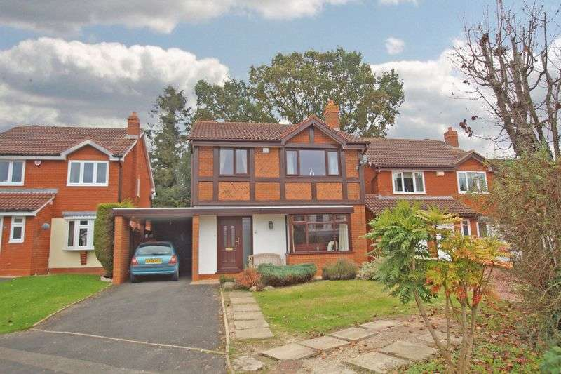 4 Bedrooms Detached House for sale in Ploughmans Walk, Stoke Heath. Bromsgrove