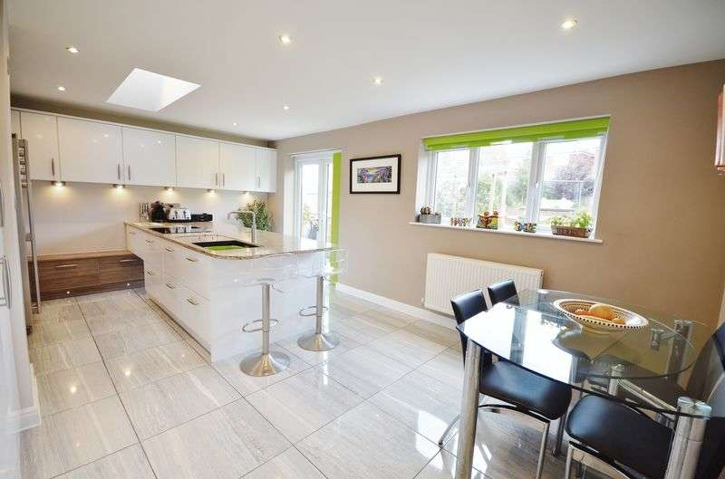 4 Bedrooms Detached House for sale in 3 Benedict Drive, Highcross Park, Blackpool, FY3 0AF