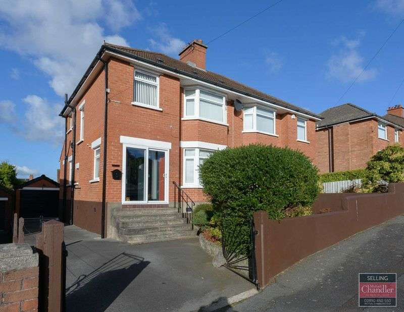 3 Bedrooms Semi Detached House for sale in 6 Glendale Park, Belfast, BT8 6HS