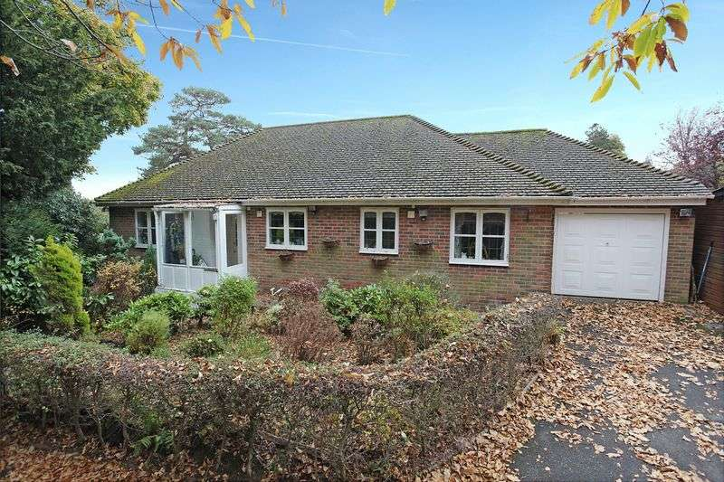 3 Bedrooms Detached Bungalow for sale in Croft Road, Crowborough, East Sussex