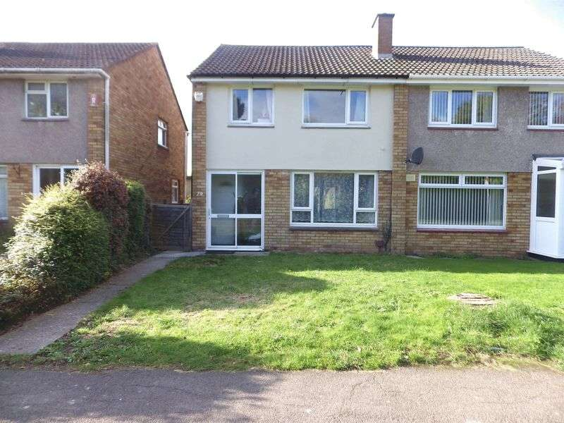 3 Bedrooms Semi Detached House for sale in Chalcombe Close, Little Stoke