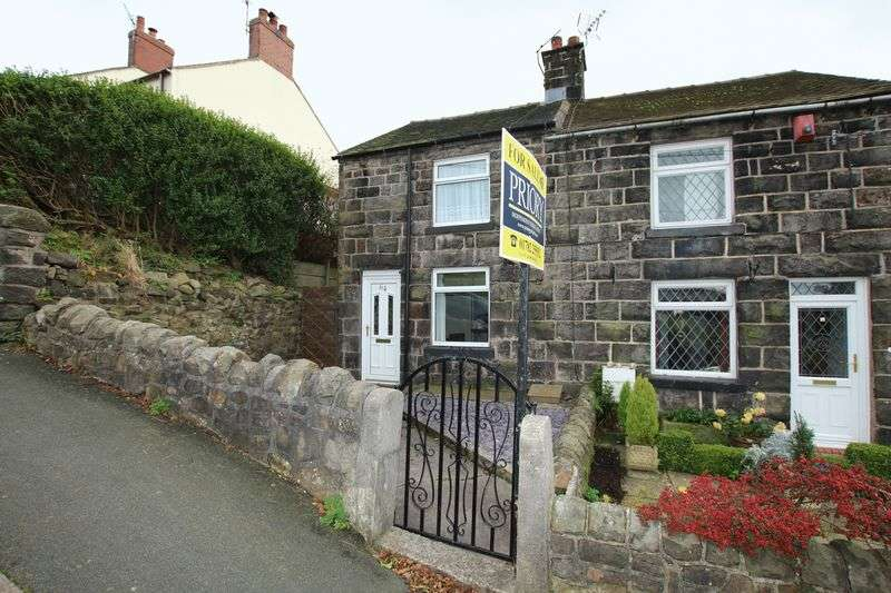2 Bedrooms Semi Detached House for sale in Top Station Road, Mow Cop