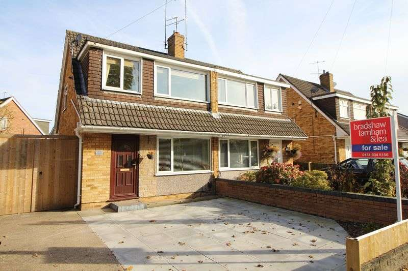 3 Bedrooms Semi Detached House for sale in Brookhurst Avenue, Bromborough