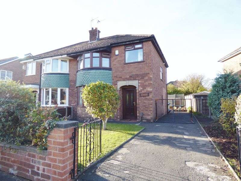 3 Bedrooms Semi Detached House for sale in Belgrave Avenue, Warrington