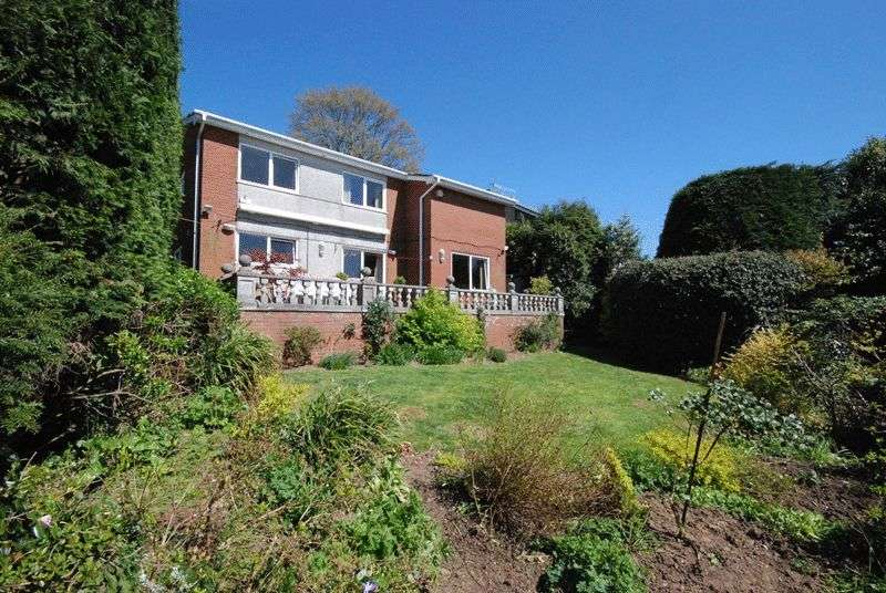 3 Bedrooms Detached House for sale in Wellsbourne Park, Mannamead, Plymouth. A striking 3 bedroomed detached family home in exceptional location.