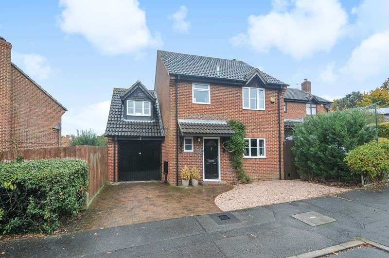 4 Bedrooms Detached House for sale in Ashman Road, Thatcham