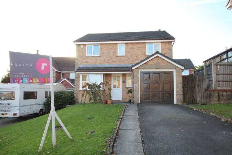 4 Bedrooms Detached House for sale in THORNLEA DRIVE, Norden, Rochdale OL12 7GD