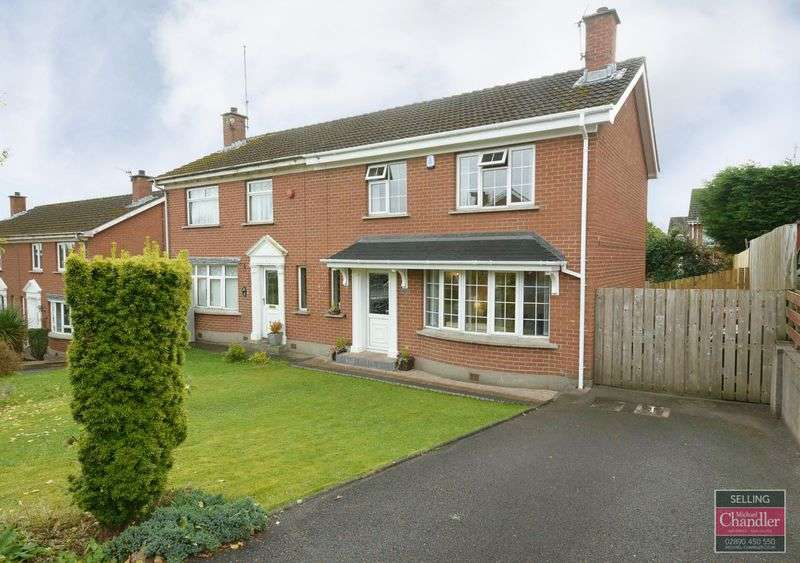3 Bedrooms Semi Detached House for sale in 10 Muskett Avenue, Carryduff, BT8 8QH