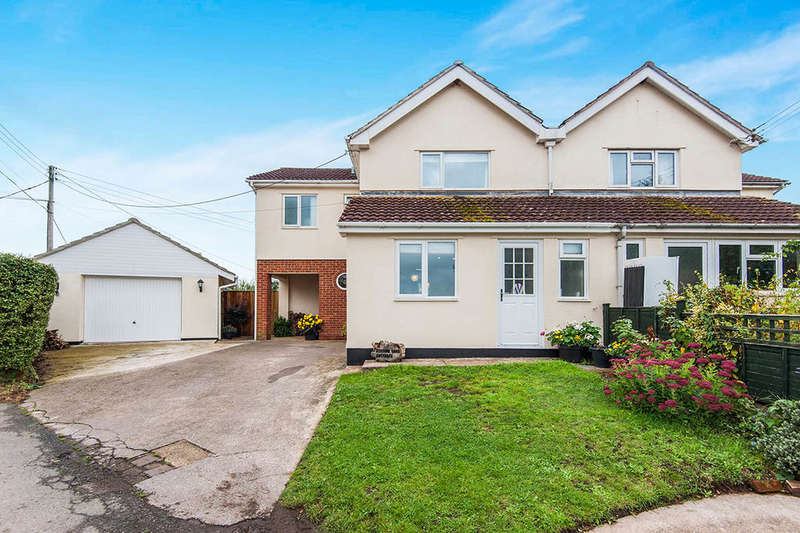 3 Bedrooms Semi Detached House for sale in Station Yard Cottage, Broadclyst Station, Exeter, EX5