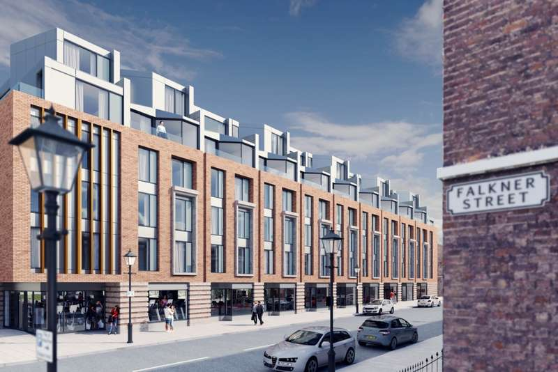 2 Bedrooms Apartment Flat for sale in Falkner Street, The Georgian Quarter, L8