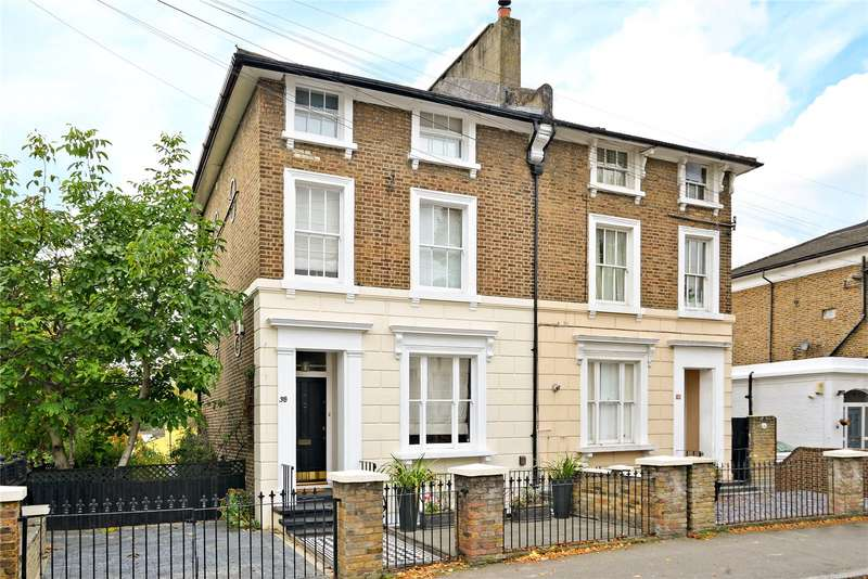4 Bedrooms Semi Detached House for sale in Marischal Road, London, SE13