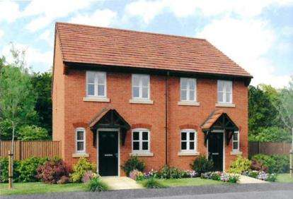 2 Bedrooms Semi Detached House for sale in Montague Court, Birmingham Road, Stratford-upon-Avon