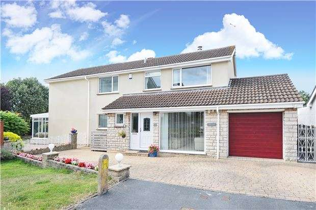 4 Bedrooms Detached House for sale in Oakleigh Gardens, Oldland Common, BS30 6RH