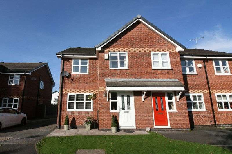 3 Bedrooms Semi Detached House for sale in Redpoll Close, Worsley Manchester