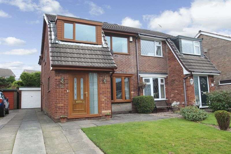 4 Bedrooms Semi Detached House for sale in St. Gabriels Close, Castleton OL11 2TG