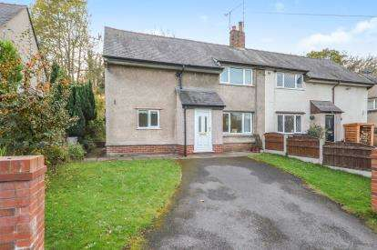 3 Bedrooms Semi Detached House for sale in Bro Alyn, Corwen Road, Pontblyddyn, Mold, CH7