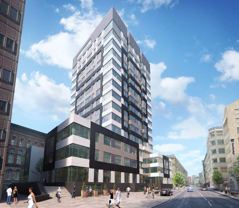 Apartment Flat for sale in Silkhouse Court, Liverpool