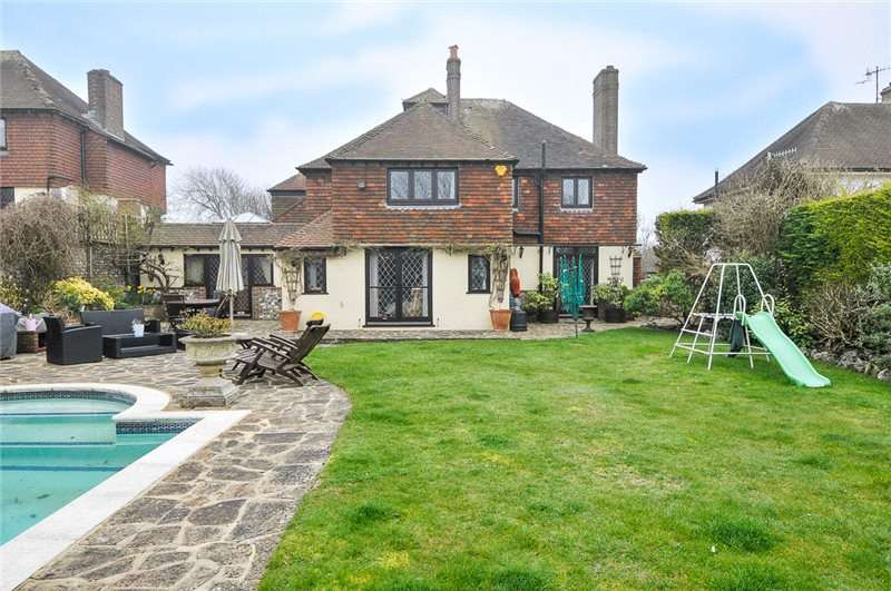 6 Bedrooms Detached House for sale in Bazehill Road, Rottingdean, East Sussex, BN2