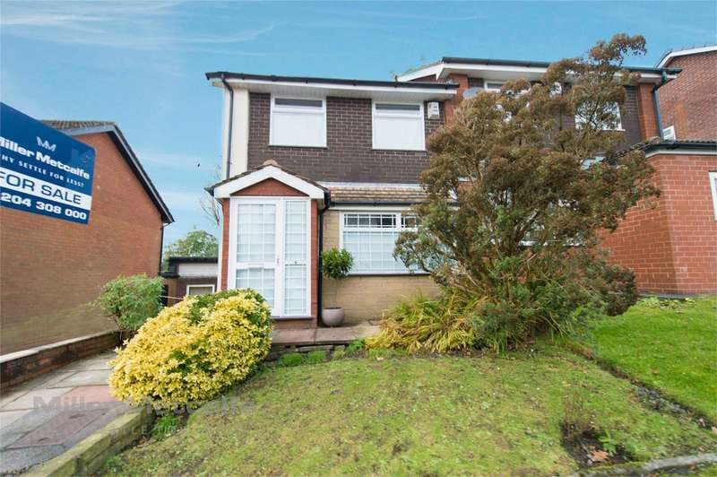 3 Bedrooms Semi Detached House for sale in Barnfield Close, Egerton, Bolton, Lancashire
