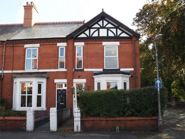 4 Bedrooms End Of Terrace House for sale in Bersham Road, Wrexham