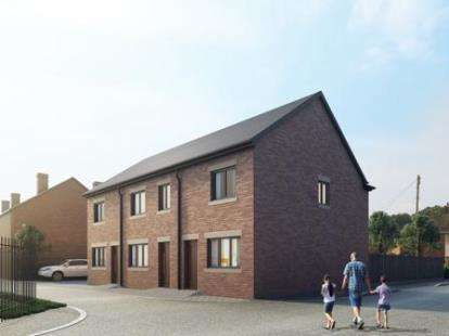 3 Bedrooms Mews House for sale in The Rookery, Newcastle, Staffordshire