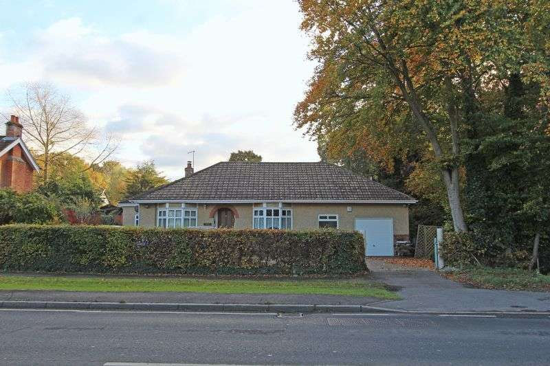 3 Bedrooms Detached Bungalow for sale in Plaitford
