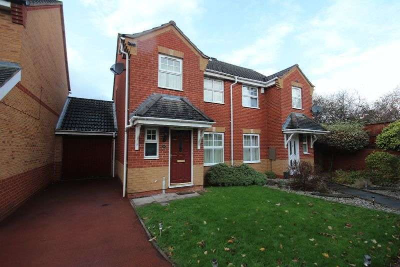 3 Bedrooms Semi Detached House for sale in Appletree Lane, Brockhill, Redditch