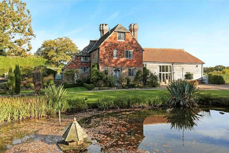 6 Bedrooms Detached House for sale in Wineham Lane, Wineham, Henfield, West Sussex, BN5