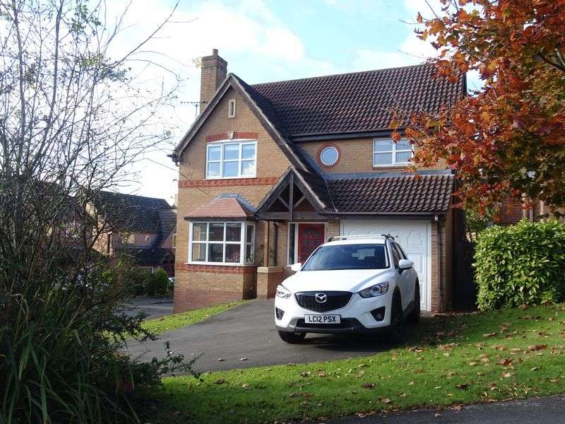 4 Bedrooms Detached House for sale in Margery Close, Ashbourne