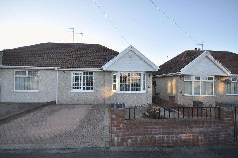 2 Bedrooms Semi Detached Bungalow for sale in Salisbury Gardens Downend