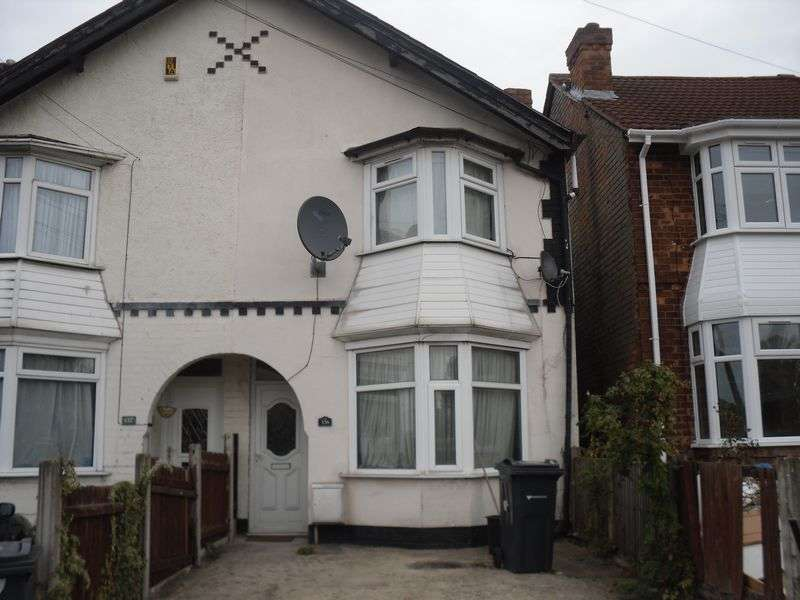 3 Bedrooms Semi Detached House for sale in Reservoir Road, Erdington
