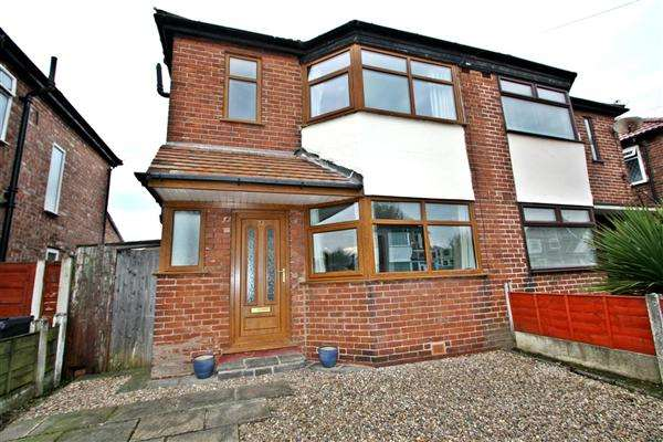 3 Bedrooms Semi Detached House for sale in St Austells Drive, Prestwich