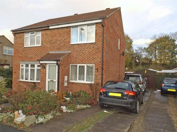 2 Bedrooms Semi Detached House for sale in Honeypot Road, Brompton on Swale, Richmond, North Yorkshire