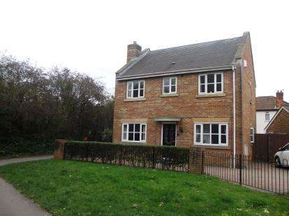 4 Bedrooms Detached House for sale in Weston Village, Worle, Somerset