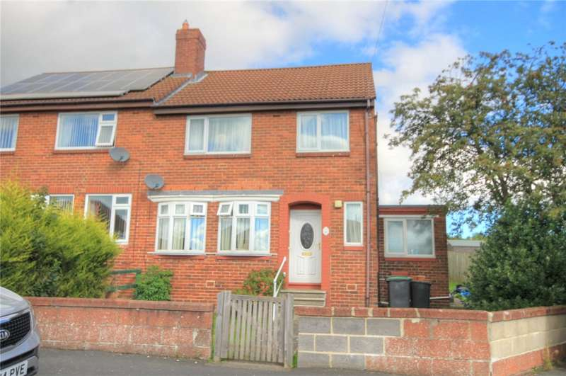 3 Bedrooms Semi Detached House for sale in Harelaw Gardens, Harelaw, Stanley, DH9