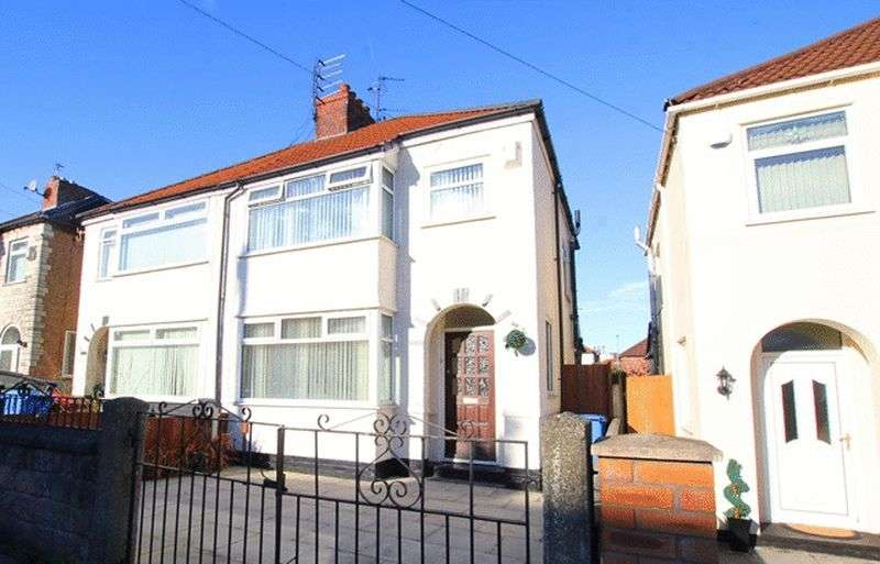 3 Bedrooms Semi Detached House for sale in Swanside Road, Swanside, Liverpool, L14