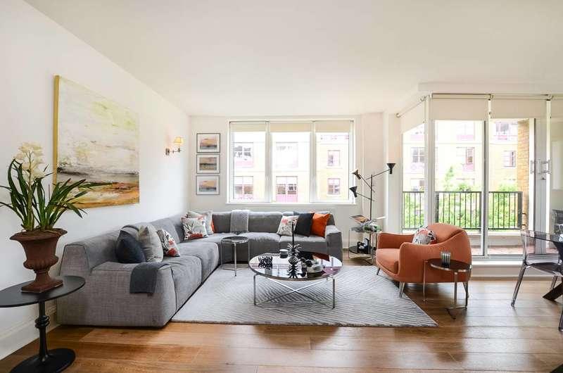 2 Bedrooms Flat for sale in Chelsea Harbour, Lots Road, SW10