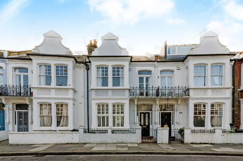 4 Bedrooms Terraced House for sale in Harbledown Road, Parsons Green, SW6