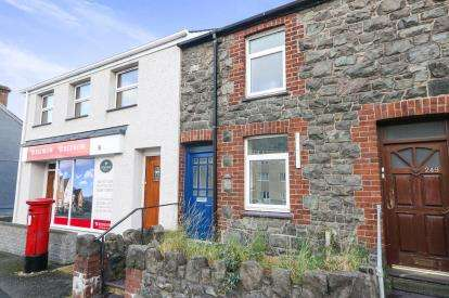 3 Bedrooms End Of Terrace House for sale in Caernarfon Road, Bangor, Gwynedd, LL57