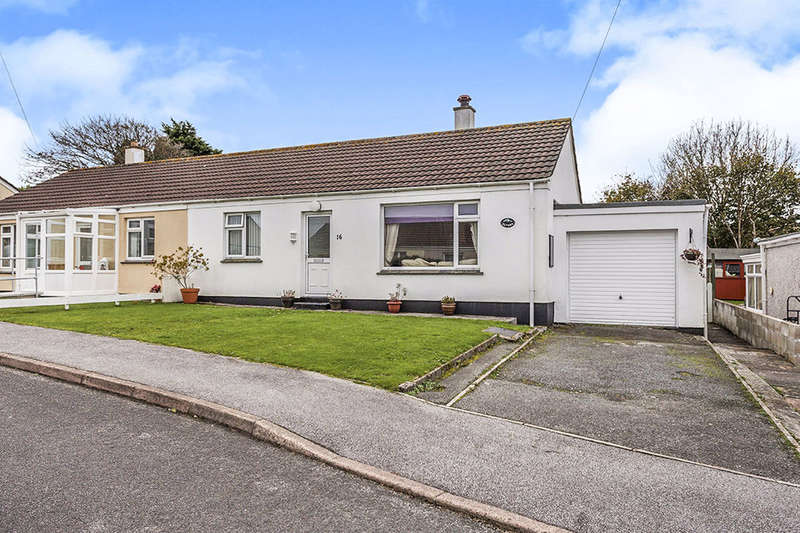 2 Bedrooms Semi Detached Bungalow for sale in Balcoath, St. Day, Redruth, TR16